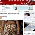 Words in the news: Buttock