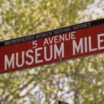 Museum Mile in New York city